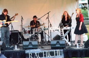 """Rachichi"" plays a tune at Kirkland Uncorked"