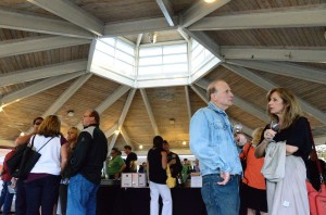 Guests mingle at Kirkland Uncorked