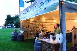 The wine shop, located by the exit, sells your favorite wines from the event